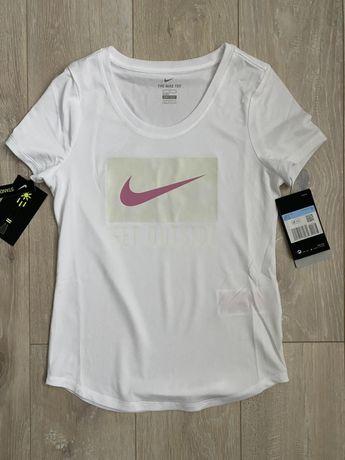 NIKE NOWA koszulka t-shirt r. 140 szybkoschnący DRI FIT