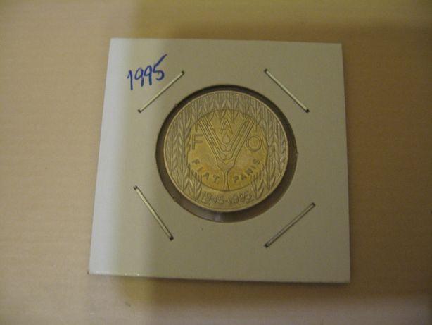 Moeda 100$00 Escudos da FAO 1995
