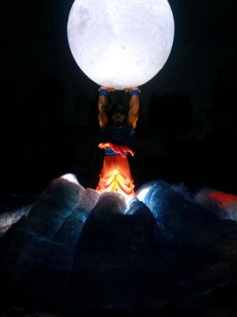 Lampka Genki Dama Dragon Ball Son Goku efekty świetlne