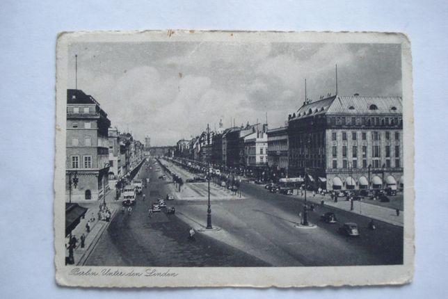 Przedwojenna pocztówka Berlin - Unter den Linden - Nr.708