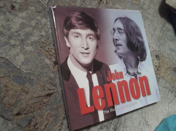 Книга John Lennon - Illustrated Biography.