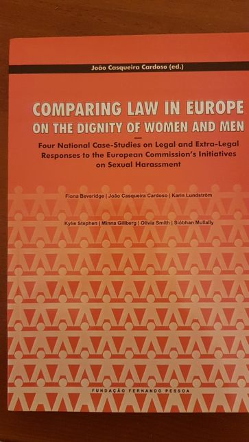 Comparing Law in Europe on the Dignity of Women and Men