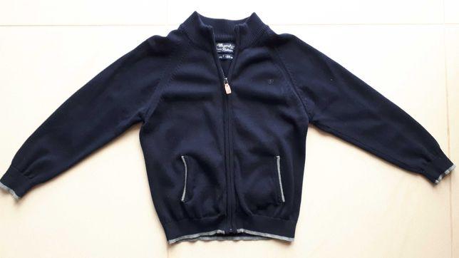 Sweter sweterek dziecięcy chłopięcy granatowy Mayoral r.122 komunia