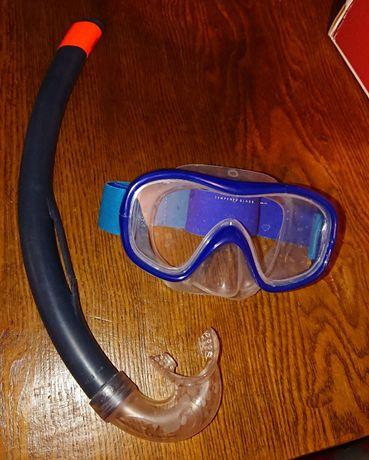 Zestaw do snorkelingu gogle + fajka