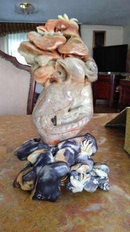 Figurka pietra saponata ręcznie robiona