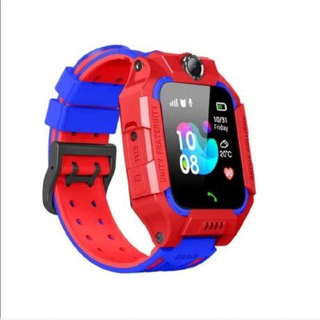 Smartwatch dla dziecka czerwony
