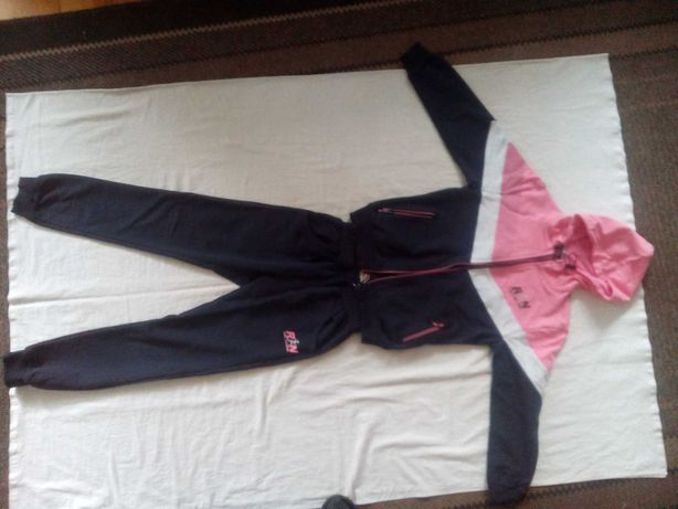 Спортивный костюм для девочки 7-9 лет х/б