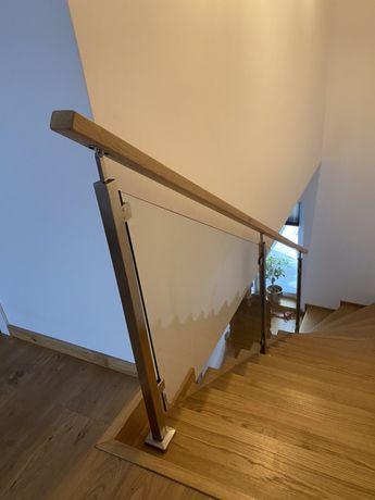 Balustrady barierki nierdzewne schodowe tarasowe balustrady