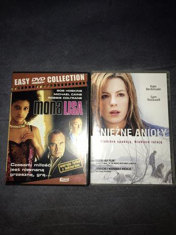 Filmy DVD Śniezne anioły i Mona Lisa jak Nowe