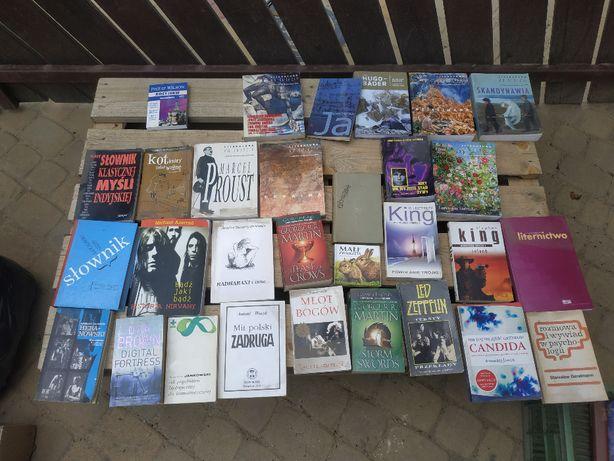 Książki różne, polskojęzyczne