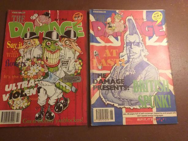 Komiks The Damage: Vol. 2 No. 6,7
