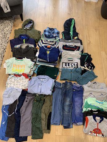Paczka ubrań dla chłopca 86-92