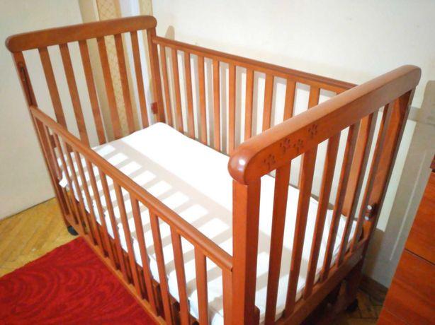 Продам Детскую кроватку ТМ Верес Соня ЛД 12 (маятник с ящиком)