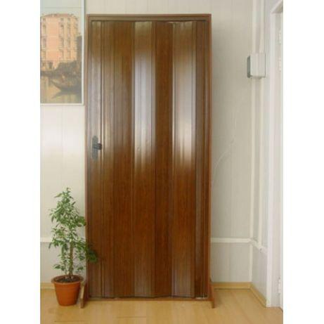 Дверь-гармошка раздвижная ассортимент размеры цвета доставка из Днепра