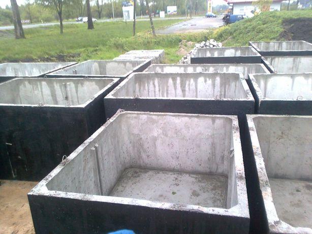 Szambo betonowe 5m3 KOMPLEKSOWO transport wykop montaż Węgrów Wyszków