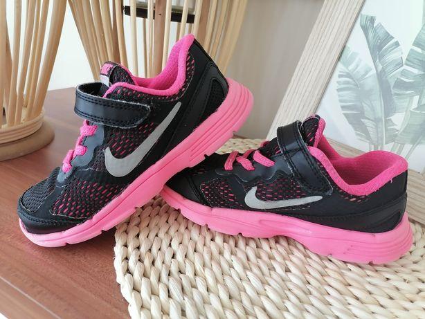 Buty nike 27 czerne różowe
