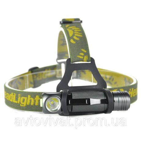 Налобный фонарь BORUiT XPL V5 1000LM 18650 3-режима