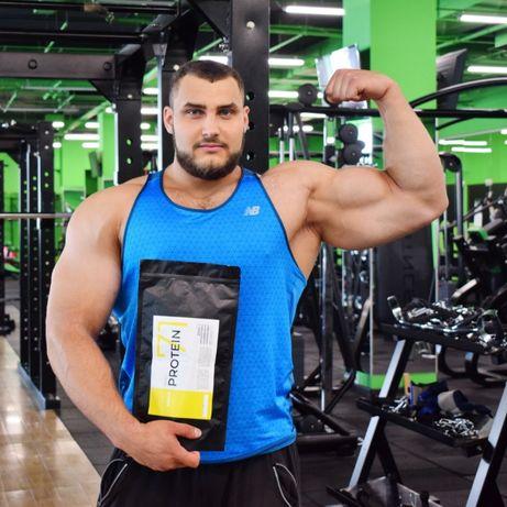 Протеин сывороточный 70% белка + шейкер