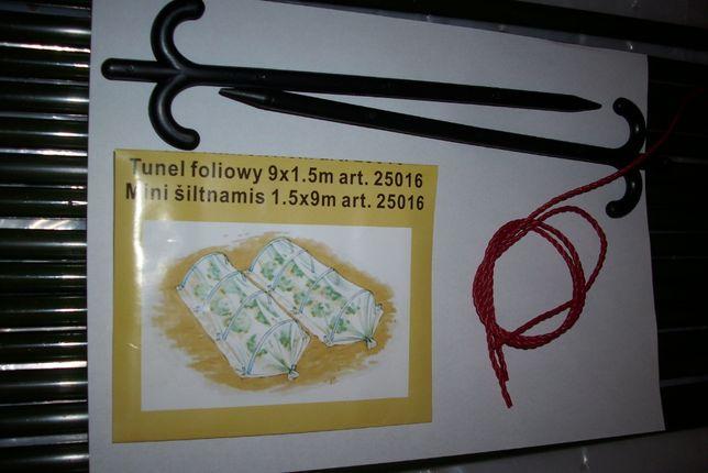 Tunel foliowy 9 x 1,5 m