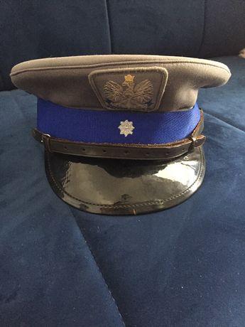 Czapka gabardyna Policja