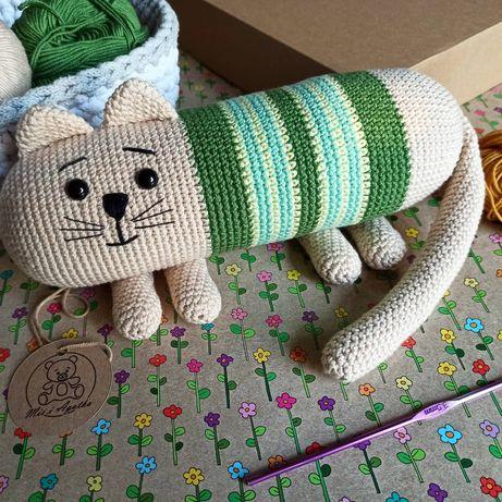 Maskotka ręcznie wykonana - kotek