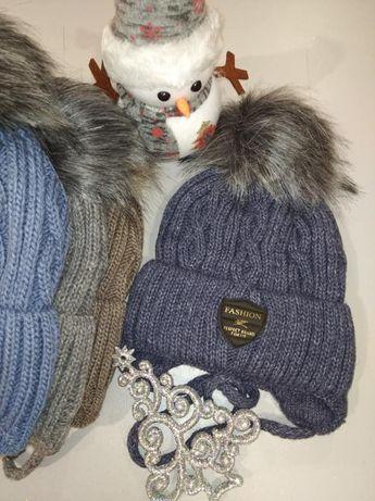 Зимня тепла шапка Джек