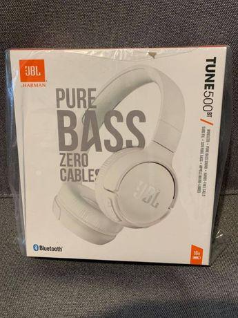 Słuchawki bezprzewodowe JBL Tune 500BT biały
