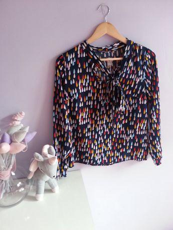Bluzka koszulowa w łezki s/m