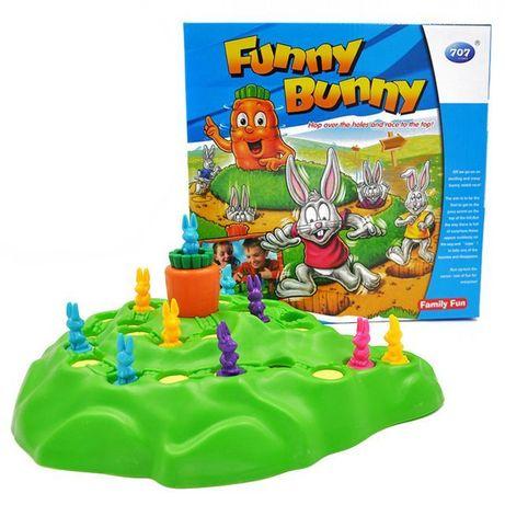 Gra Rodzinna Funny Bunny Króliki Króliczki 3D