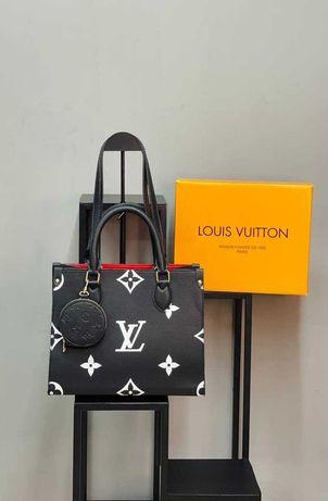 Сумка черная женская Louis Vuitton Сумочка Луи Витон Люкс качество