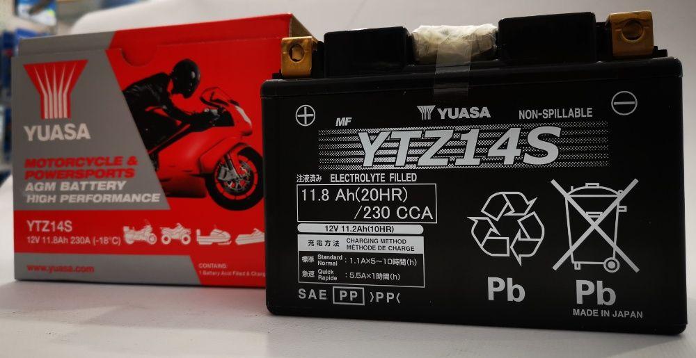 Akumulator YUASA YTZ14S 11.8Ah 230A najtaniej w Polsce ! kurier Wrocław - image 1