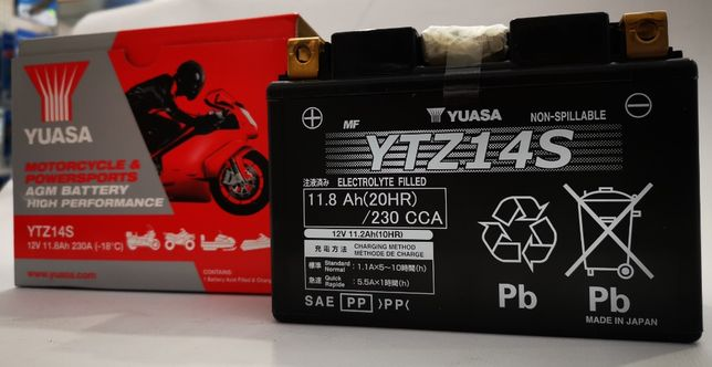 Akumulator YUASA YTZ14S 11.8Ah 230A najtaniej w Polsce ! kurier