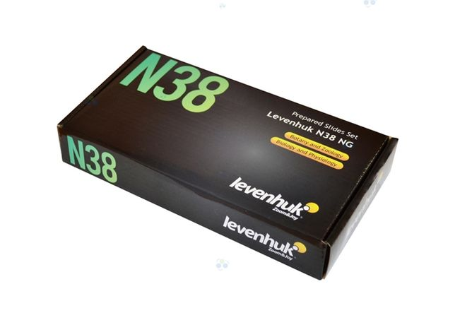 Zestaw gotowych preparatów levenhuk n38 #m1