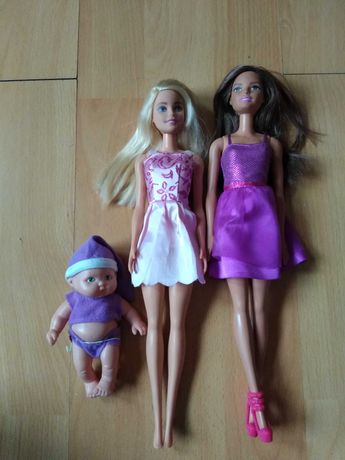 Sprzedam trzy lalki z serii Barbie