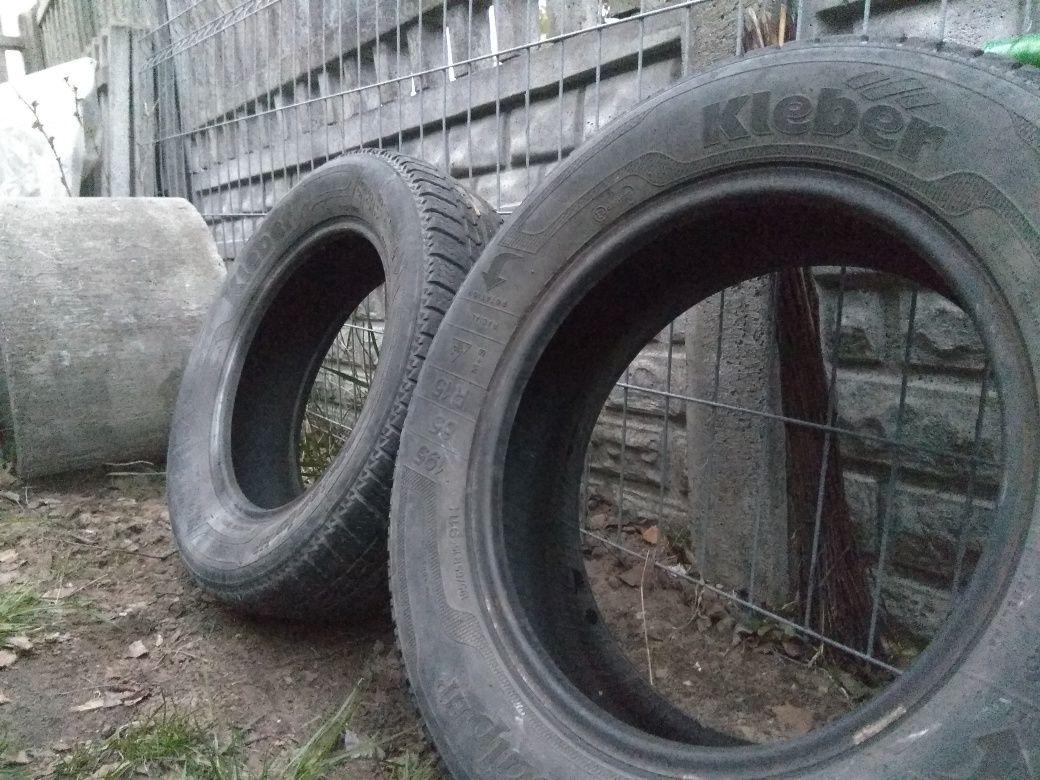 Opony samochodowe 2 szt do ogrodu lub jako piaskownica czy huśtawka