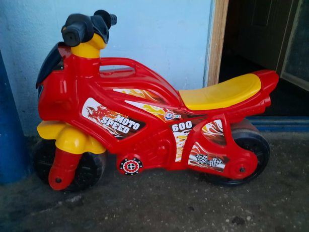 Мотоцикл толкатор