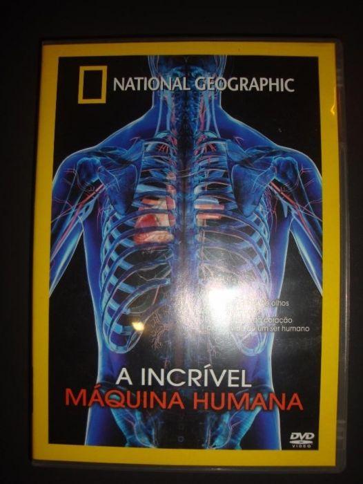 """A Incrível Máquina Humana"" - DVD National Geographic"