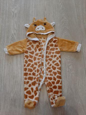 Красивый детский комбинезон Жирафенок