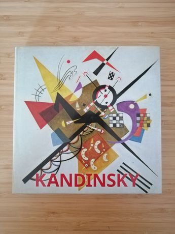 "Livro ""Kandinsky"", Hajo Duchting"