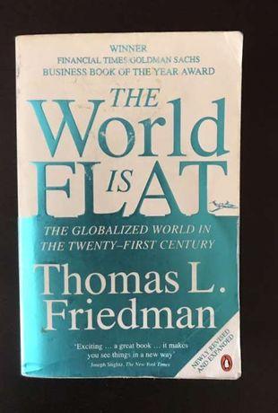 "Livro ""The world is flat"""