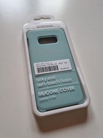 Euit Samsung S10e Silicone Cover niebieskie