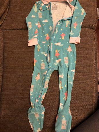 Carters piżamka pajac bawełniany 80 12m