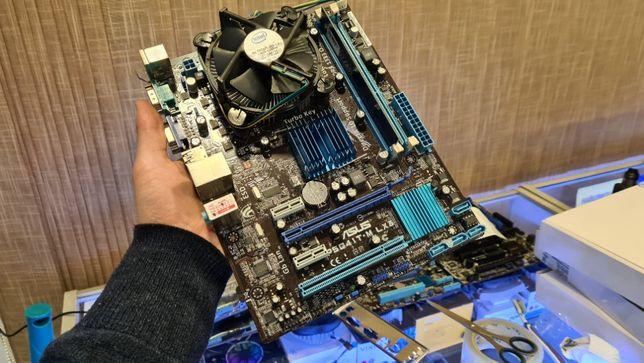 Комплект Asus P5G41T-M LX3 s775 | Intel® Celeron E3400 | 1Gb DDR3