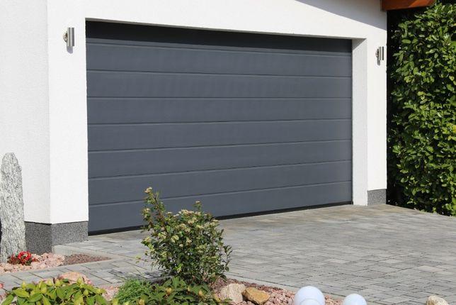 Producent Brama garażowa segmentowa Bramy garażowe przemysłowe2,39*2,0