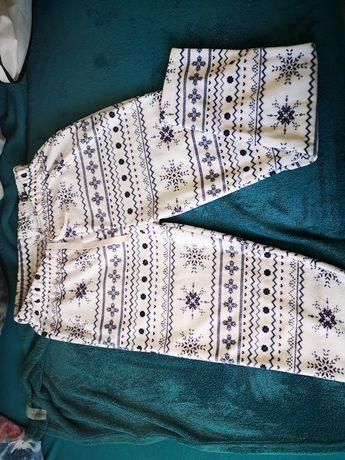 Spodnie dresowe polarowe, L