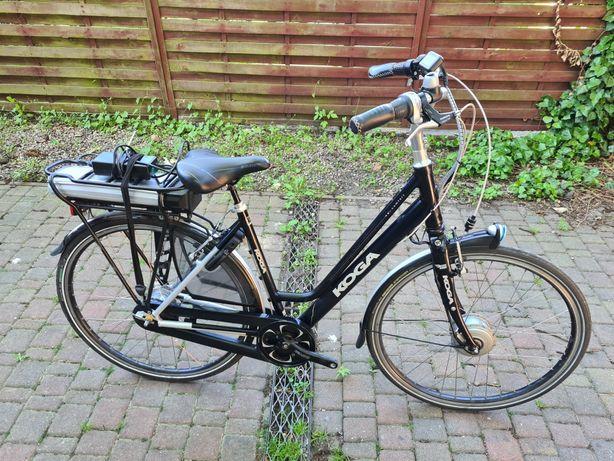 Śliczny damski elektryczny rower holenderskiej firmy Koga