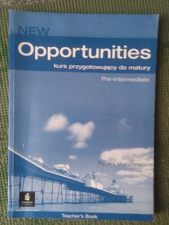 New Opportunities. Pre intermediate Teacher's book