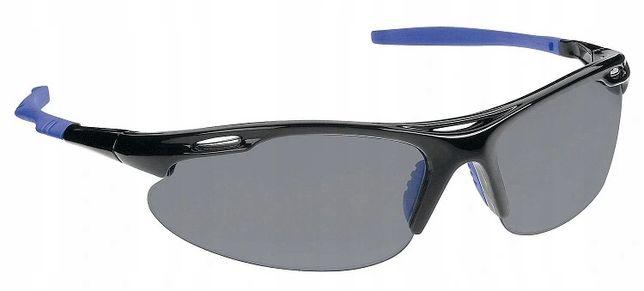 Okulary Ochronne SITE Czarne Smoke na Rower i nie tylko