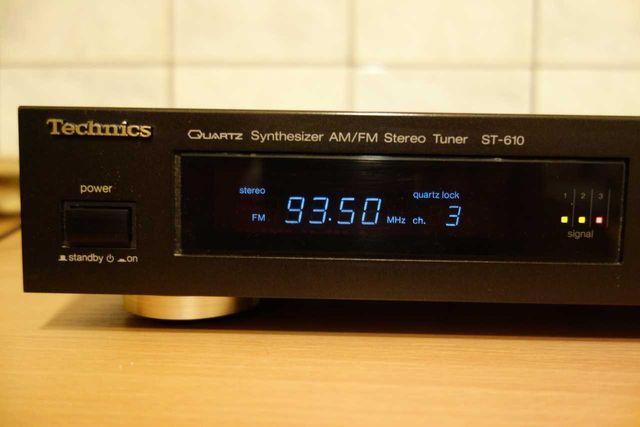 Technics SC-610 Tuner Radio