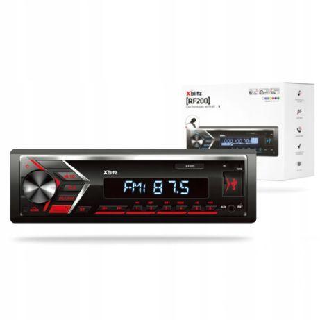 Radio Samochodowe Xblitz RF200 bluetooth 4x50W AUX microSD USB RDS